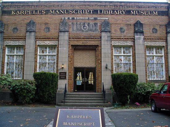 karpeles manuscript library museum - Google Search