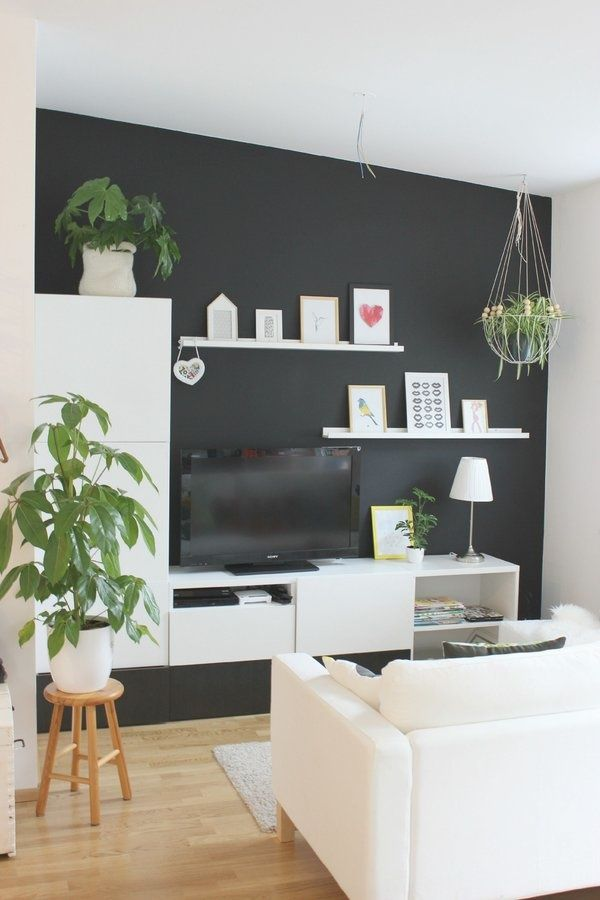 Album banc tv besta ikea ralisations clients srie with for Meuble mural tv ikea