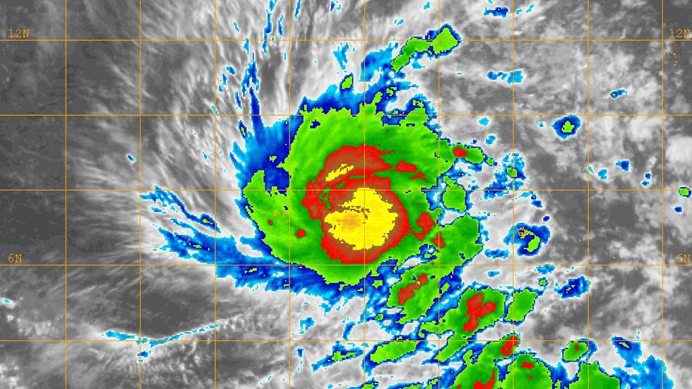 Typhoon Maysak may pose a danger to Yap and the Philippines in the days ahead.