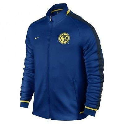 NIKE CLUB AMERICA AUTHENTIC N98 TRACK JACKET Gym BlueArmory