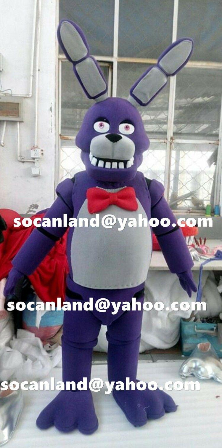 F fnaf bonnie costume for sale - Fnaf Bonnie Mascot From Fnaf World On Zibbet Com