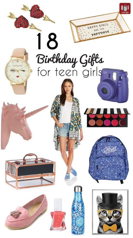 Birthday Gifts For Teen Girls Ideas