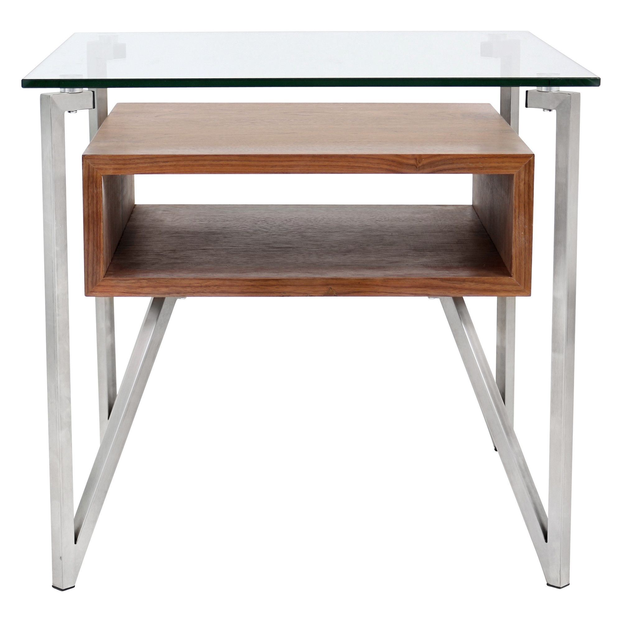 Shop Modern Walnut Malmo End Table and other modern and contemporary home and office furniture Browse our selection of End Tables from Zuri Furniture