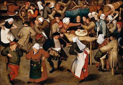 MI PARAISO ESCONDIDO: Danza de aldeanos de la Edad Media.