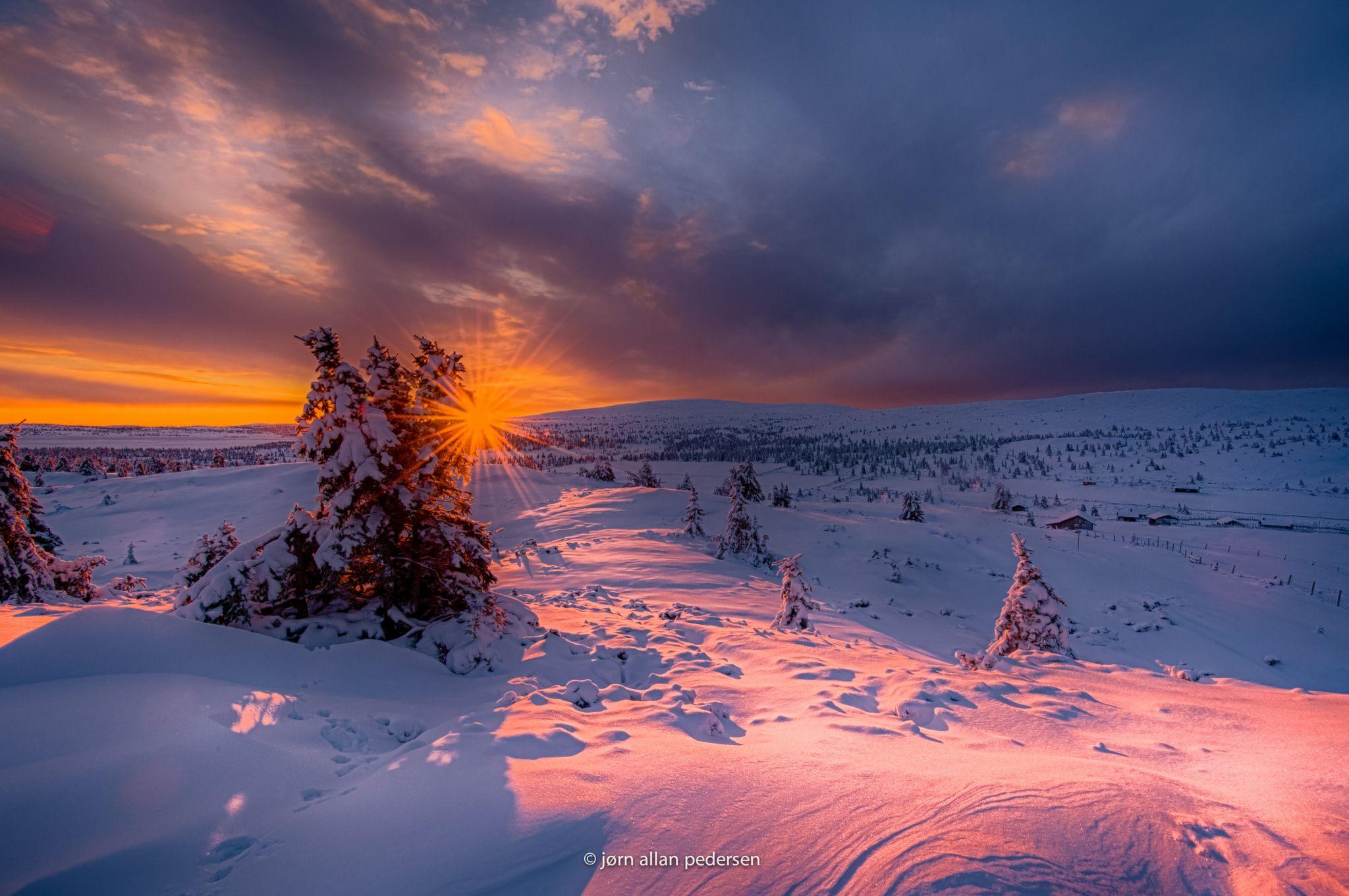 First winter morning by Jørn Allan Pedersen / 500px