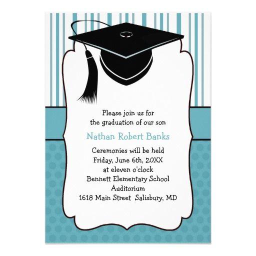 Invitaciónes Para Graduación De Primaria Para Editar