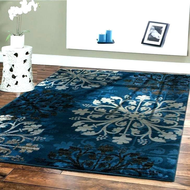 Fresh Brown And Blue Area Rug Figures Elegant For Rugs S Chocolate