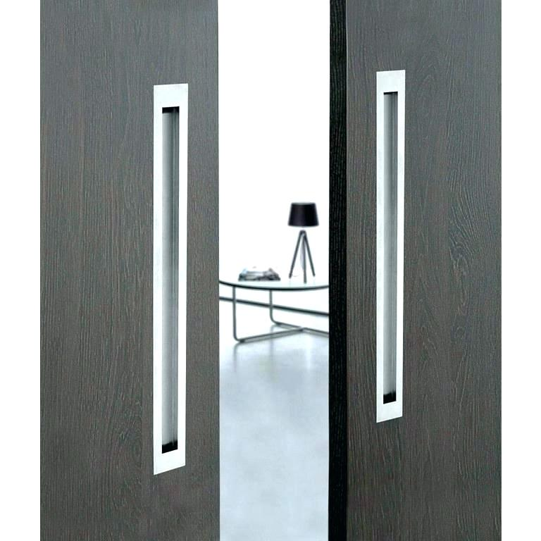 Stainless steel satin or mirror finish pull handle for sliding glass door