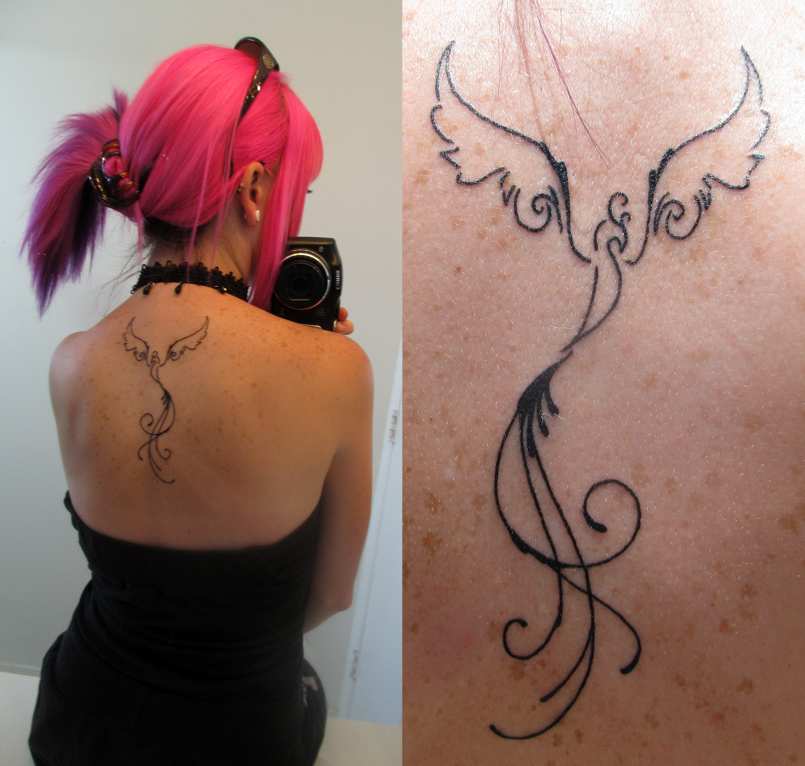 this could be a pretty alternative to the phoenix tattoo i'd been considering...