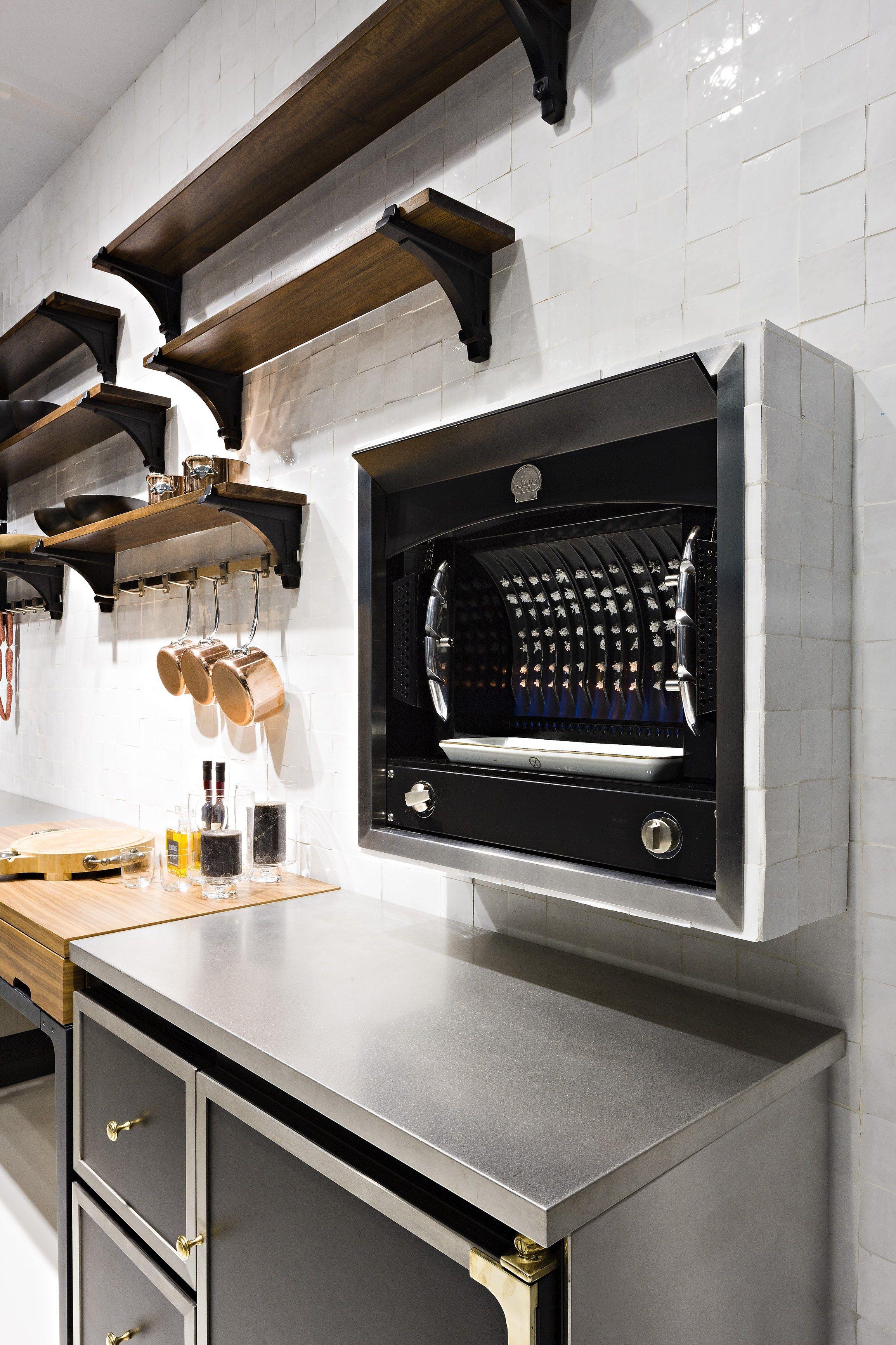 Built In Oven Flamberge Rotisserie By La Cornue Built In Ovens Outdoor Kitchen Design