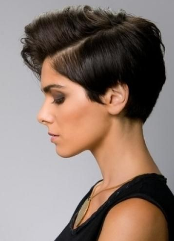 I Love the side!  chic short black haircuts | Short Haircut Trends 2012 2013 For Women 12 New Period Short Haircut ...