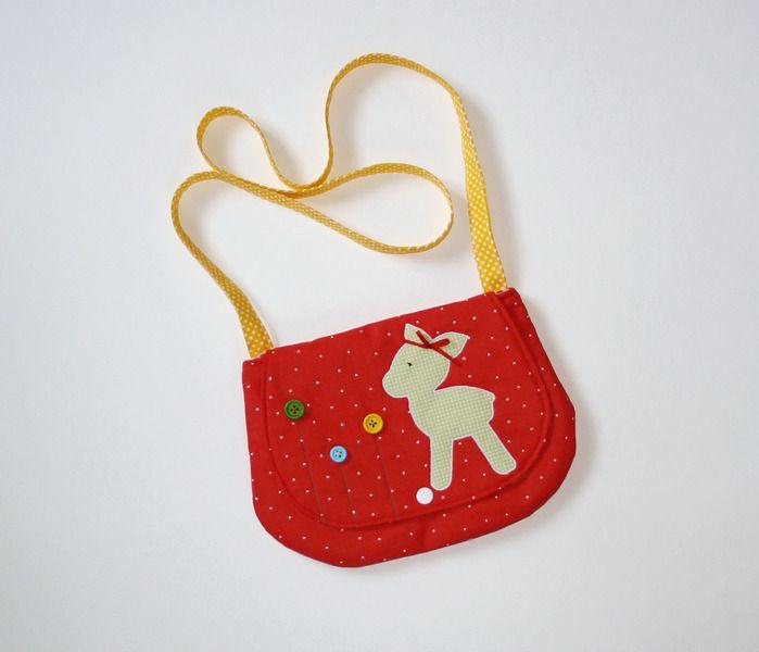 eine s e kindergartentasche mit bambi f r kleine m dchen endlich auch eine tasche haben wie. Black Bedroom Furniture Sets. Home Design Ideas