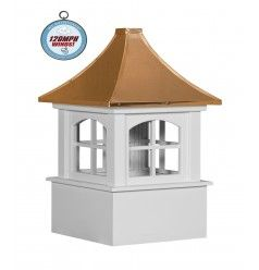 Arched carlisle cupolas (s3cv-a) | Copper roof, Roof ...