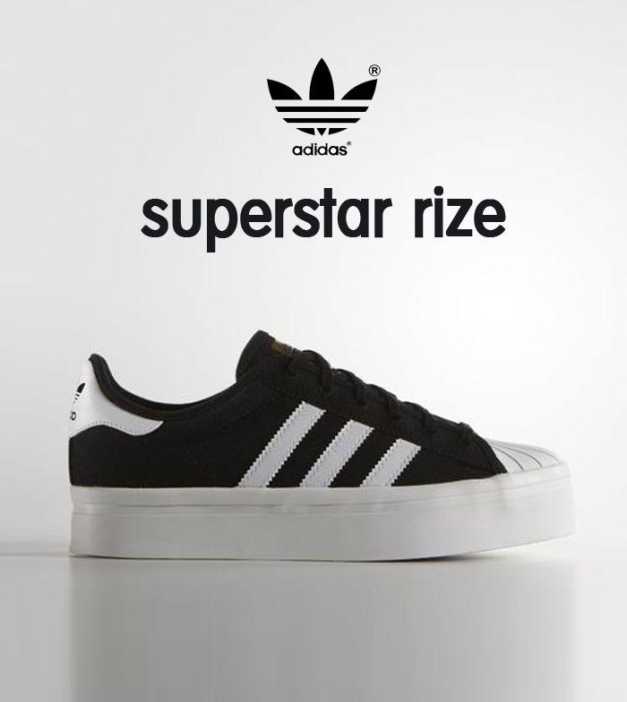 adidas superstar rize nere