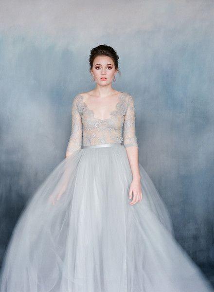 Nightingale   Grey weddings, Nightingale and Gowns