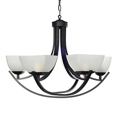 Classic Chandelier with 6 Lights in Warm Light – USD $ 229.99