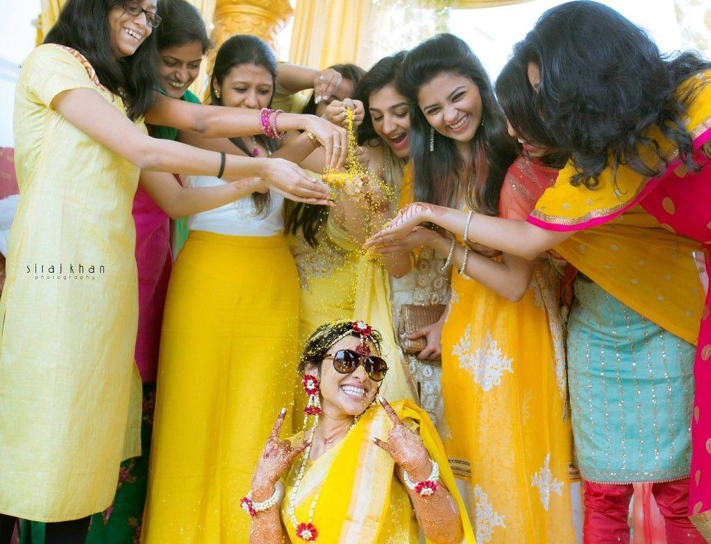 Pinterest • bhavi91 beautiful shot Haldi ceremony