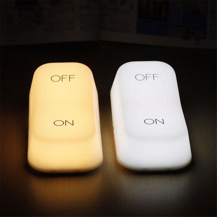 New Arrival Gravity Touch Sensor Led Night Lights Lamp Modeling On Off Switch Lamps For Baby Bedside Lights Table Lighting Night Lamps Night Light Lamp Led Night Light