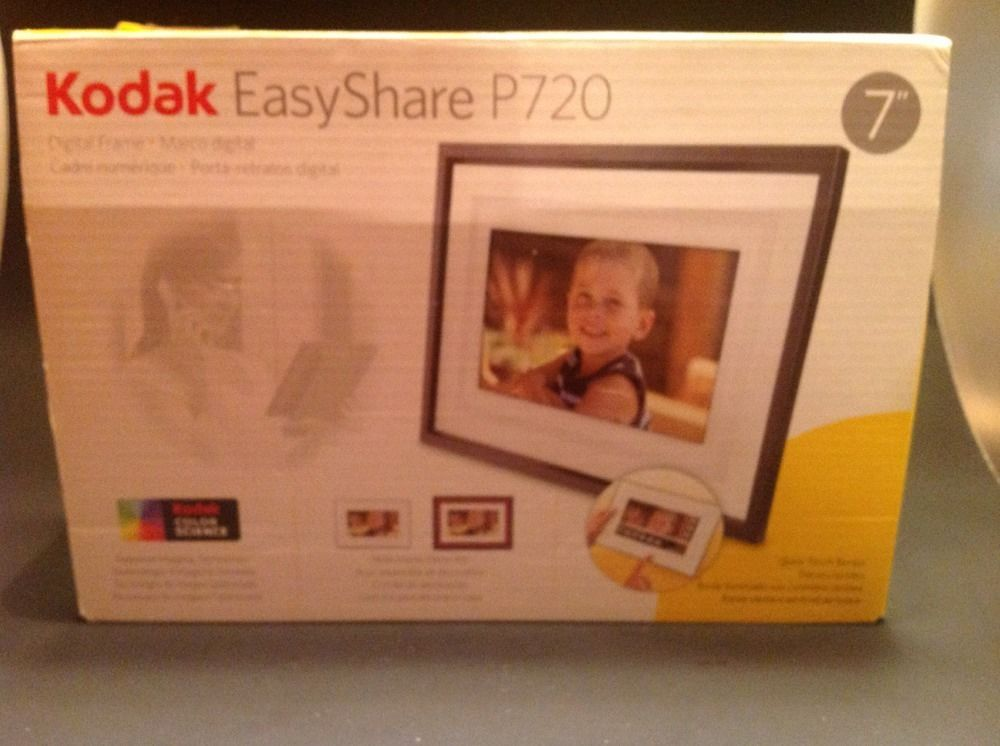 Kodak EasyShare P720 Digital Photo Frame 7\