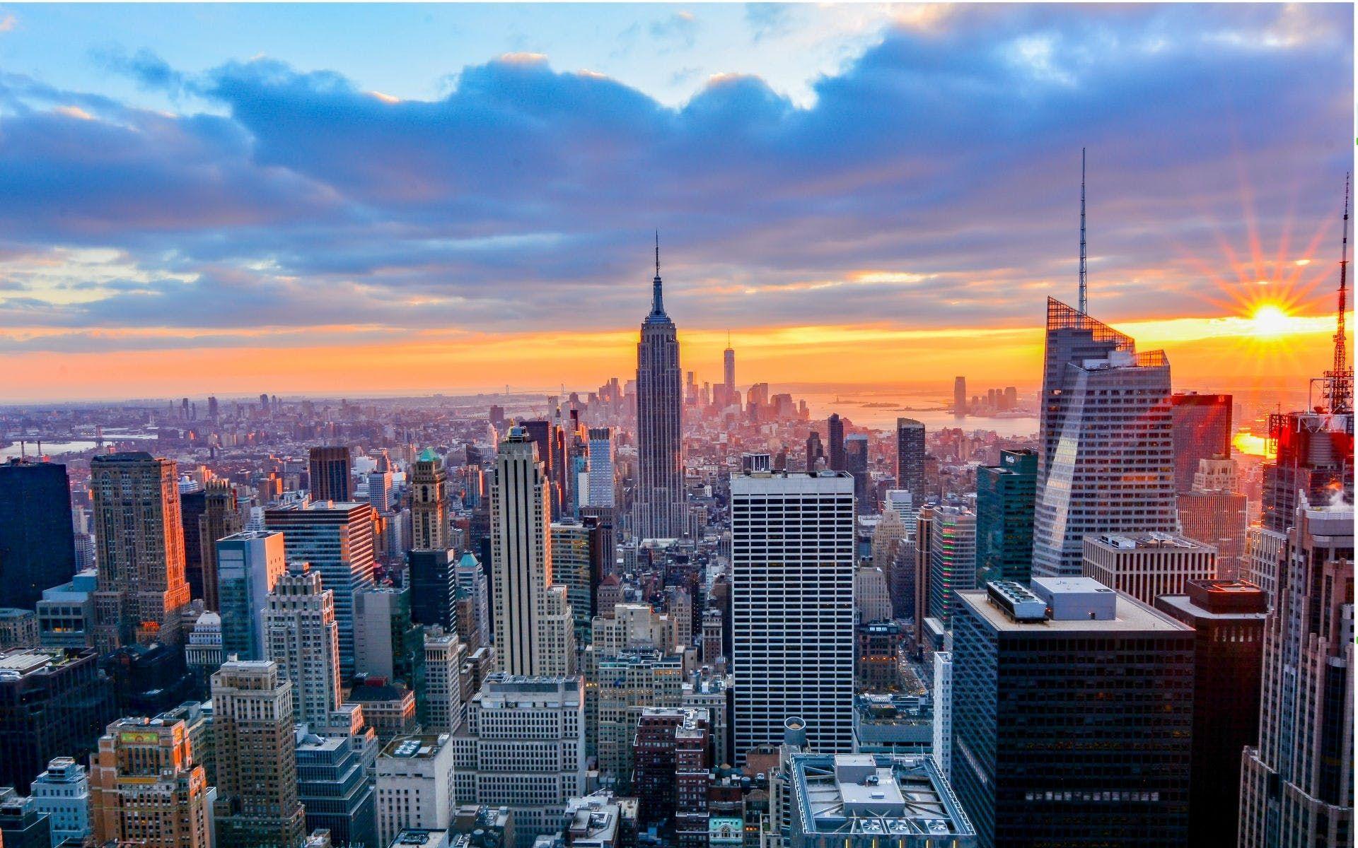 New york city at day19201200 beau paysage paysage