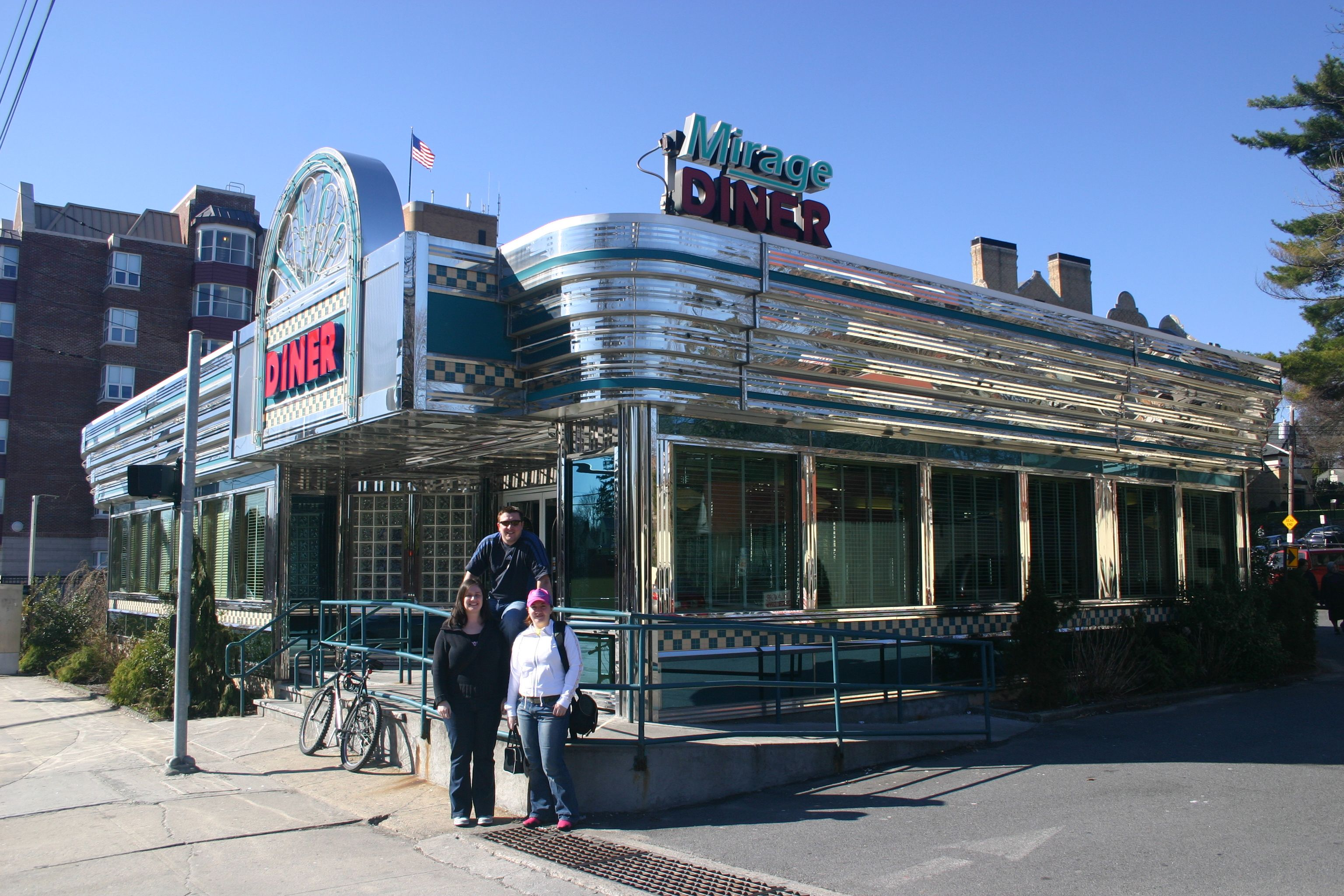 Mirage Diner New Rochelle New York I Loved Going To This Place At