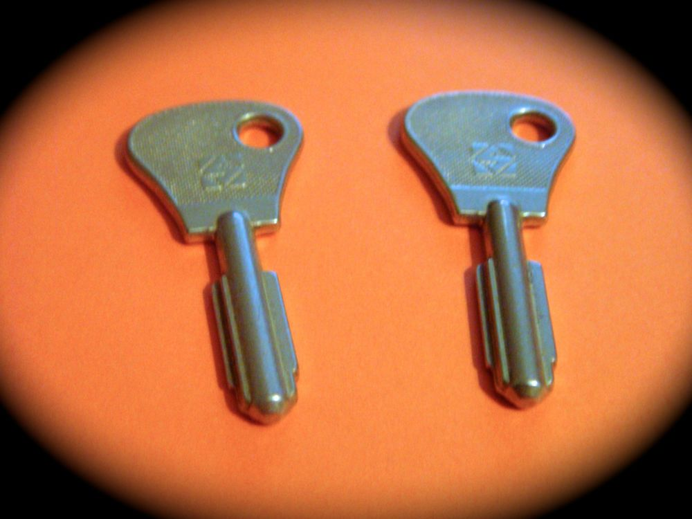 Details about CHUBB AVA Keyblank PairPushlock, Safe