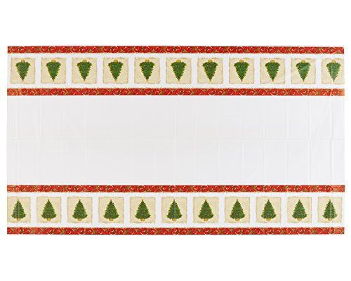 American greetings 4683664 christmas tree plastic table cover 54 x american greetings 4683664 christmas tree plastic table cover 54 x 102 party supplies multicolored read more reviews of the product by visiting the link m4hsunfo