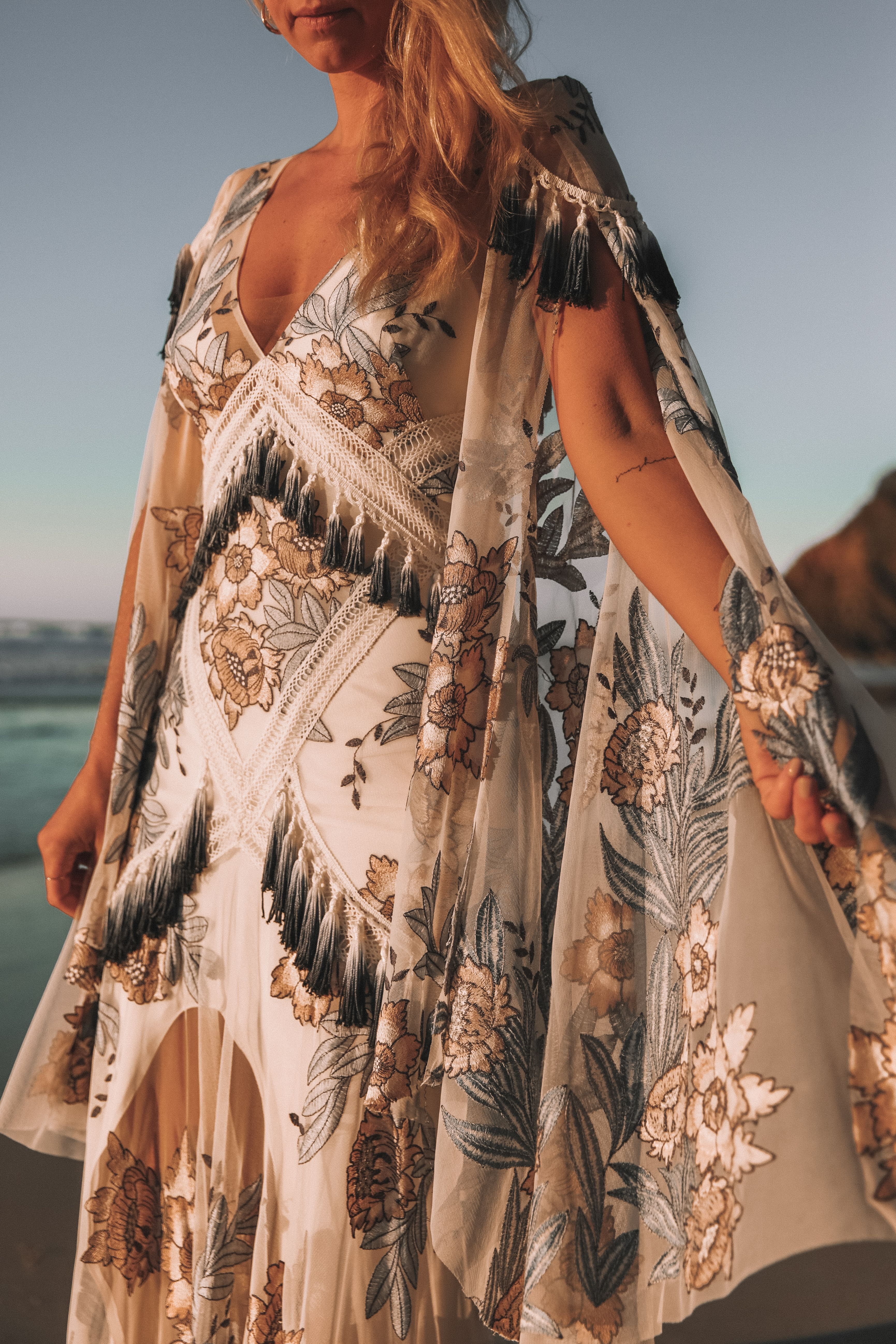 a8dd4097d56 Rue de Seine Aegean Gown from the Wild Heart Collection