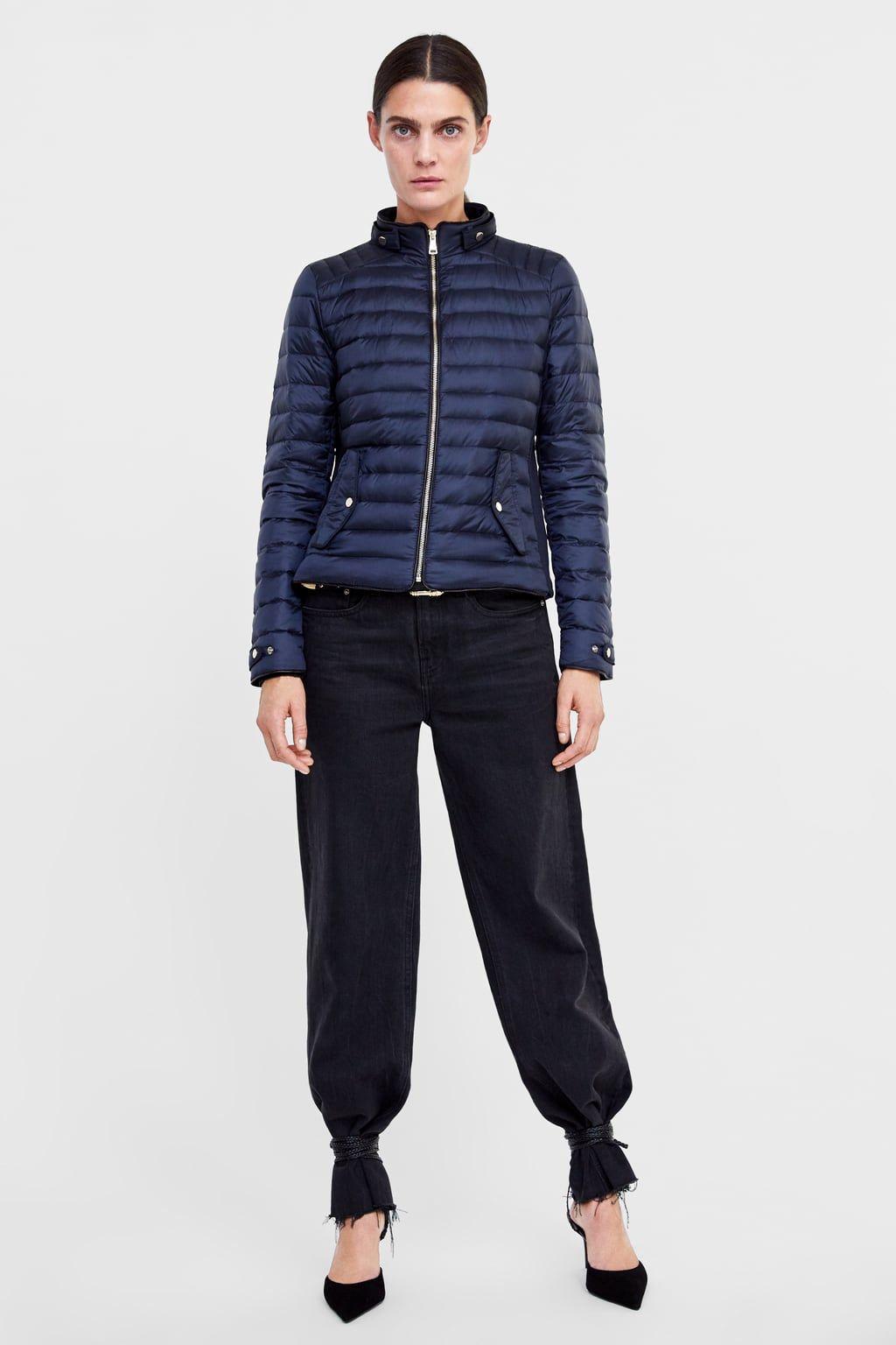Image 5 Of Lightweight Down Puffer Jacket From Zara Down Jacket Jackets Pantsuit [ 1536 x 1024 Pixel ]