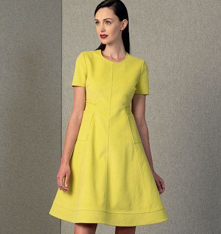 Vogue Patterns 2014 Fall Collection Dresses Pinterest