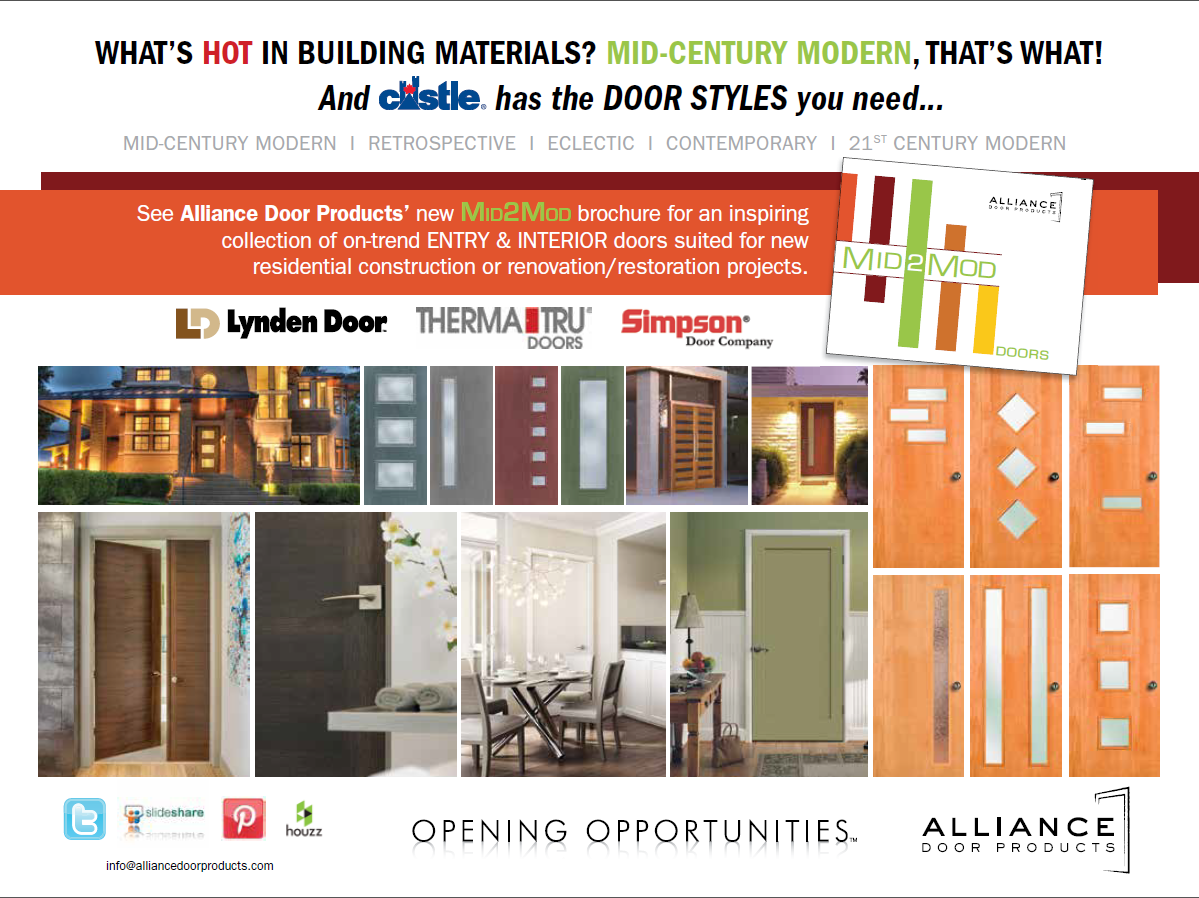 ... Decorating Alliance Door Products Images : An Ad For Castleu0027s IDEAS  In Store Customer/ ...
