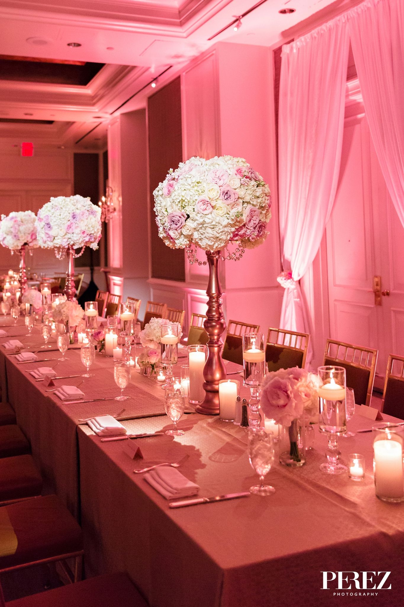 Pin On Crescent Court: Wedding Events, Table Decorations