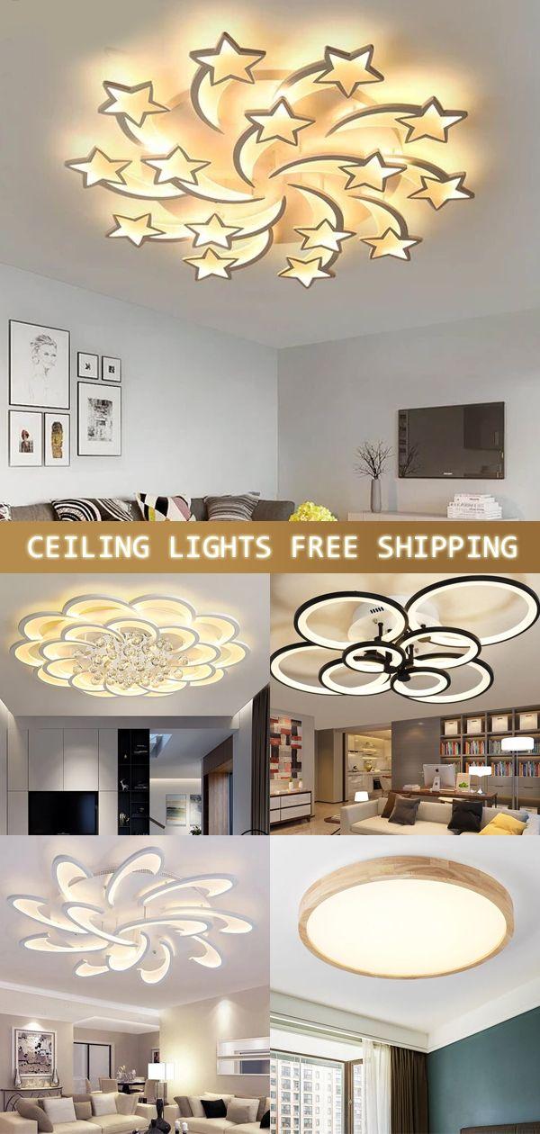 Photo of Plafoniere moderne a LED in cristallo per soggiorno Lampada da soffitto per la casa Deco