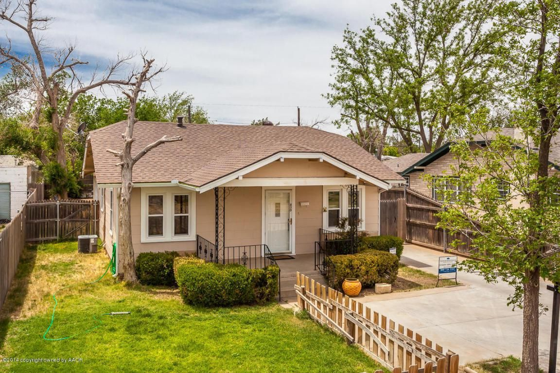 Enjoy The Nice Sized Patio Welcoming You Home. Large Living Area With  Original Hardwood Floors