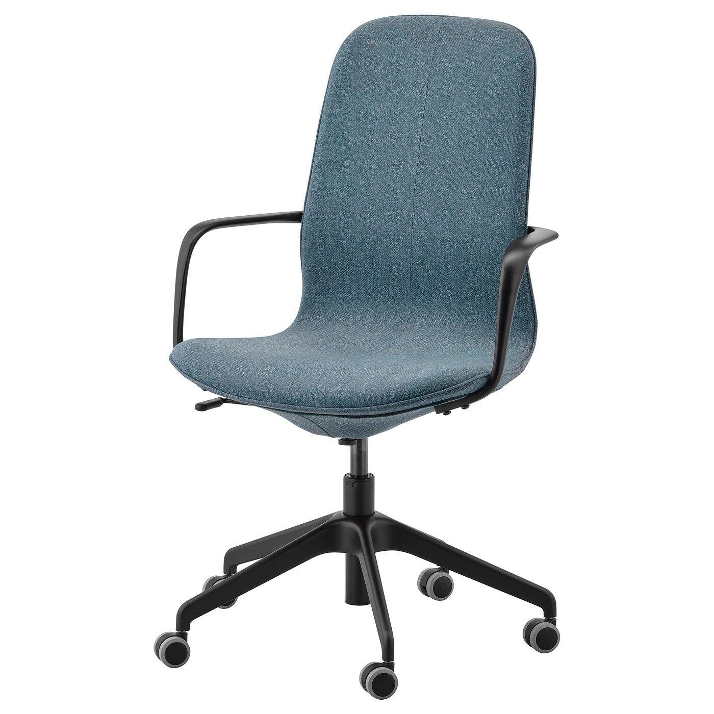 Ikea Langfjall Chaise De Bureau Av Accoudoirs Chaise De Bureau