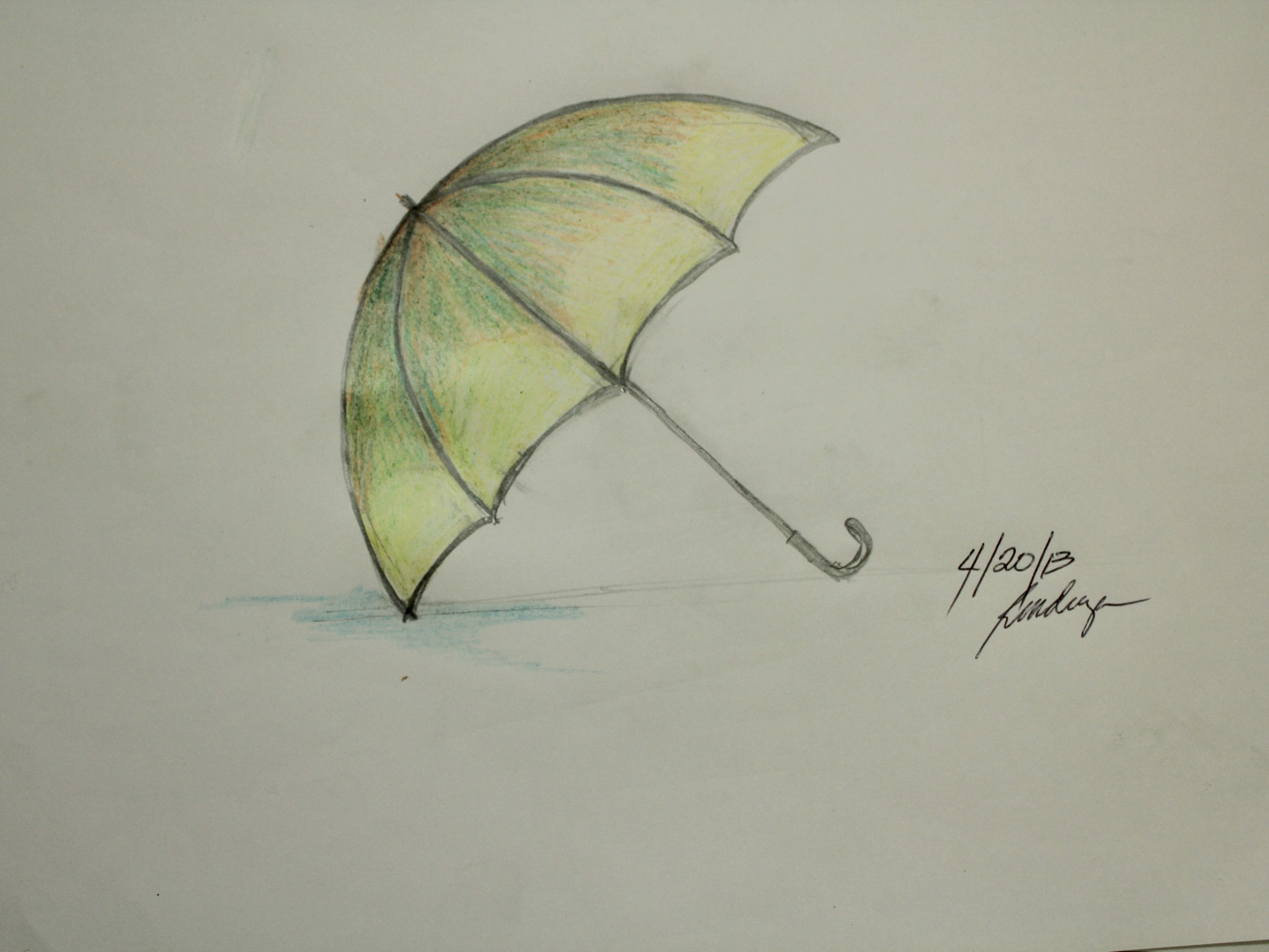 Easy Things To Draw That Look Hard Google Search Umbrella