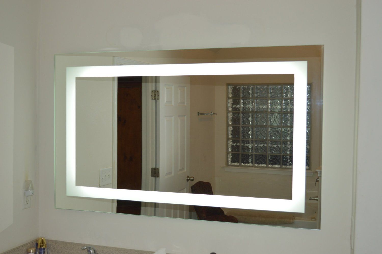 Amazon Lighted Vanity Mirror LED MAM86036 Commercial Grade 60 Wide X 36 Tall Home Kitchen
