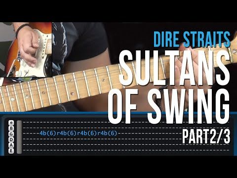 Sultans Of Swing Guitar Lesson Pt 1 Dire Straits Intro Verse One Youtube Guitar Lessons Music Theory Guitar Sultans Of Swing