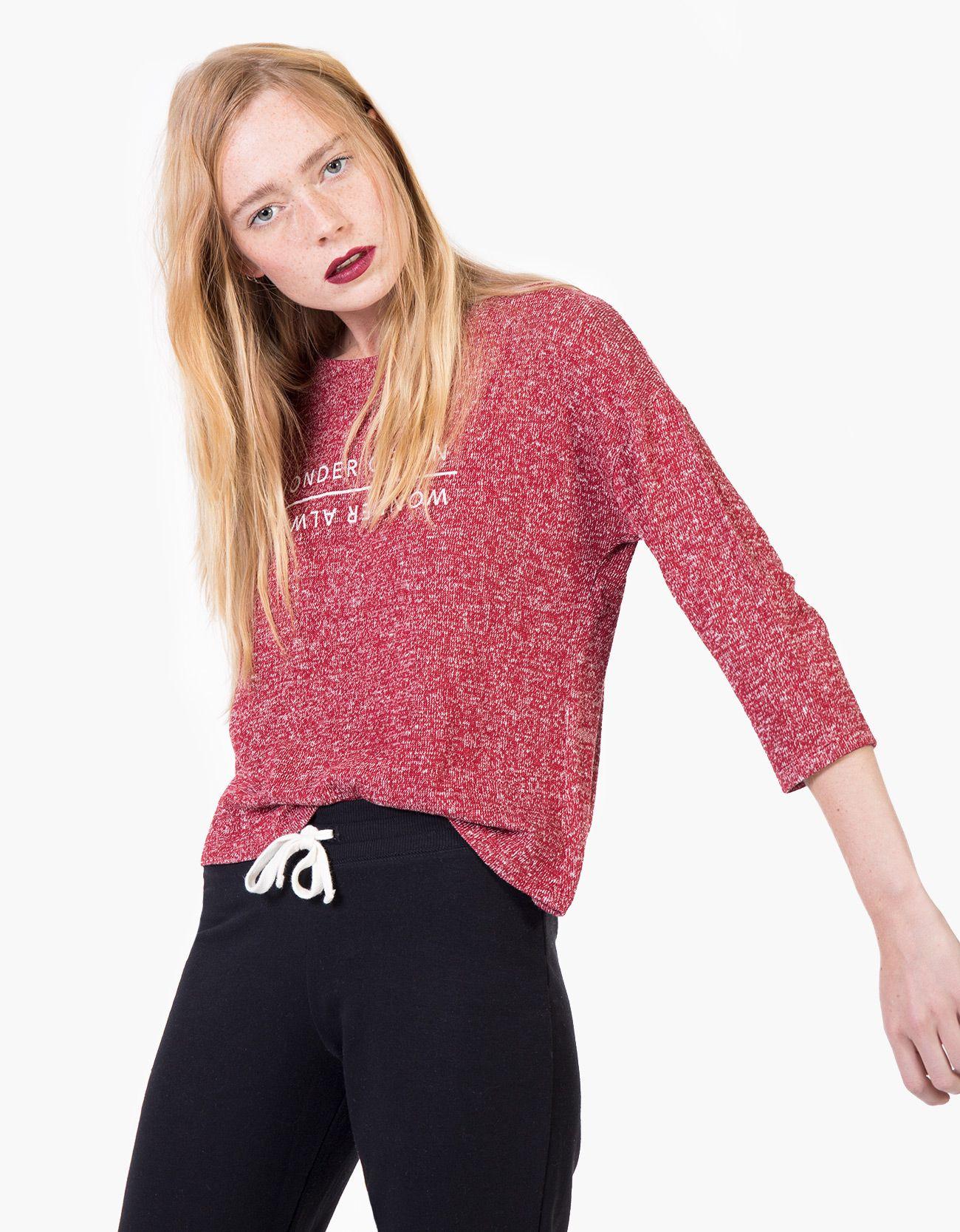 Camiseta posicional punto cortado : CHICA Camisetas   Ropa femenina ...