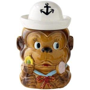 Vintage Cookie Jars For Sale Vintage Cookie Jars For Sale  Vintage Sailor Monkey Cookie Jar