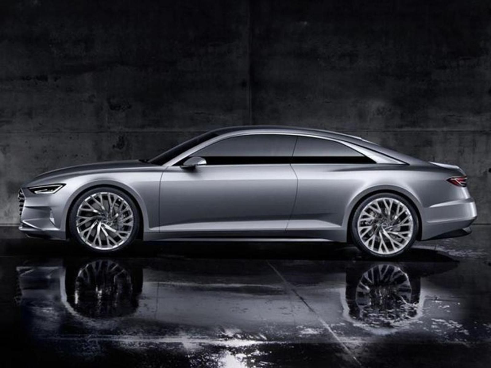 2018 audi a6 coupe doubt whether this will make production prologue design concept a. Black Bedroom Furniture Sets. Home Design Ideas