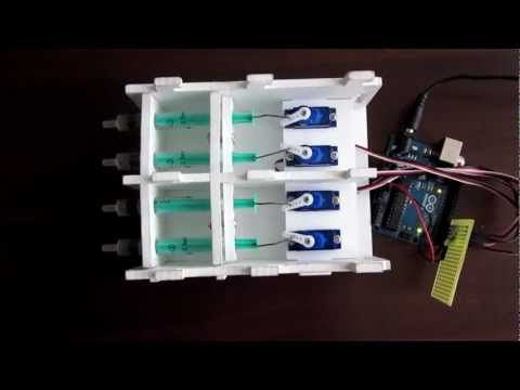 Arduino controlled aquarium dosing pump - YouTube | Research