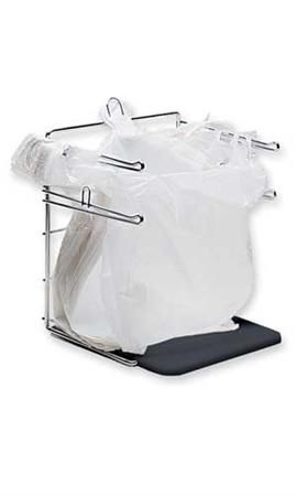 Sturdy Bagging Stand Holds Plastic T Shirt Bags Open Grocery Bag Holder Plastic Bag Holders Diy Plastic Bag Holder