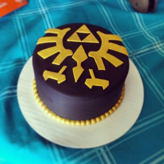 Legend Of Zelda Birthday Cake For Jason = )