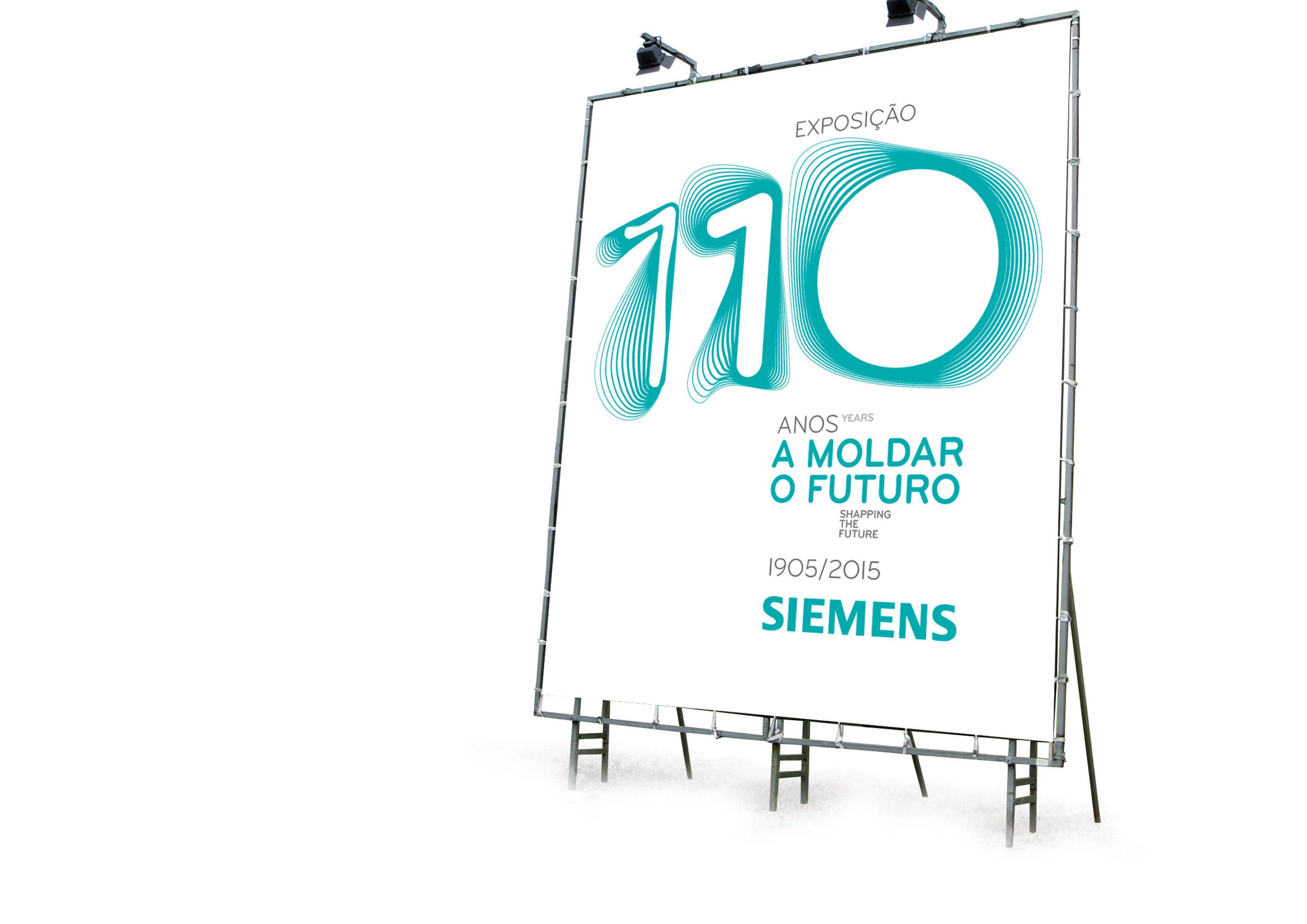 Siemens 110 years in Portugal - ID proposal #brand #branding #brandidentity #identity
