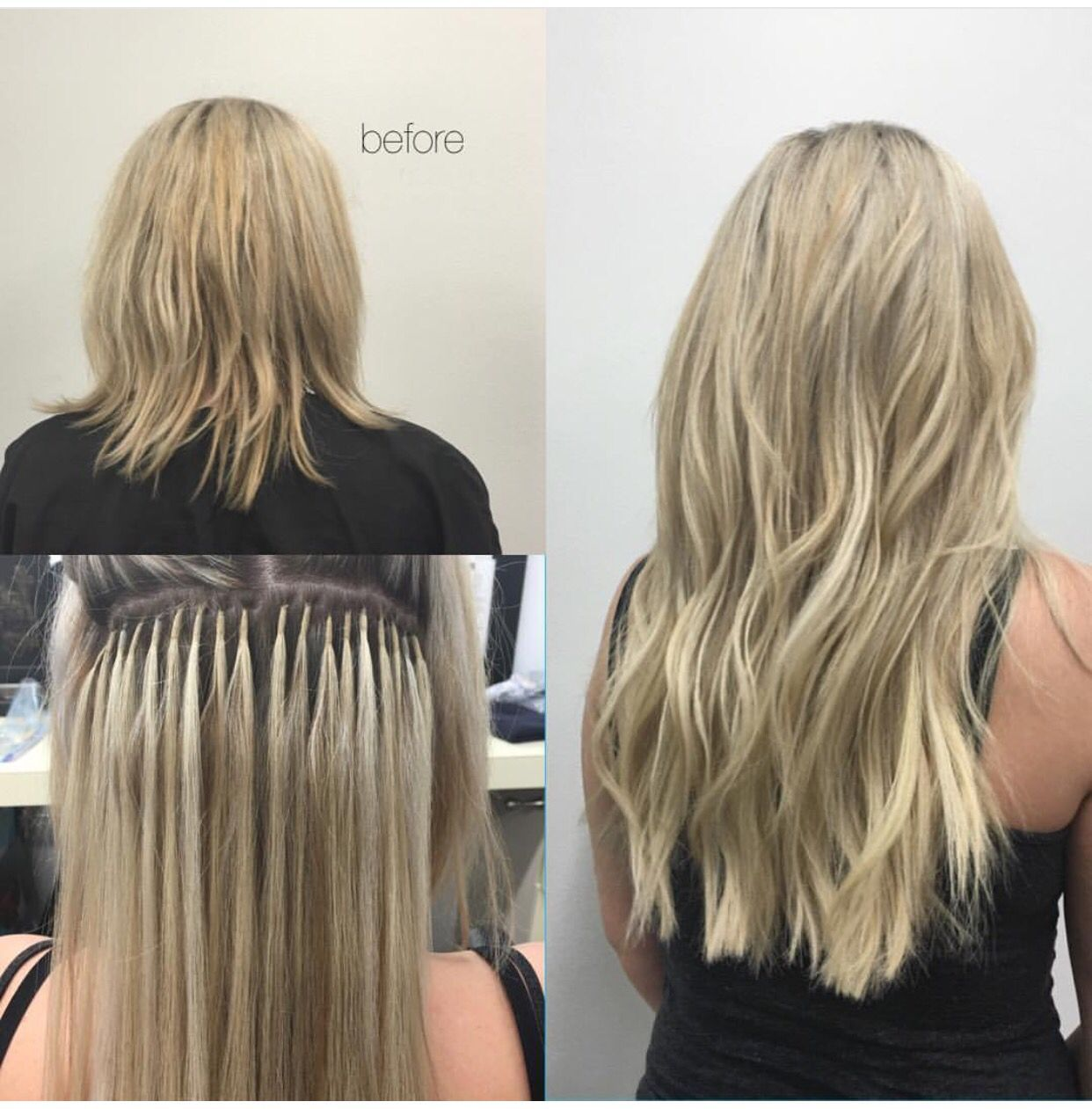 Great Lengths Hair Extensions By Cassandra At Salon Entrenous
