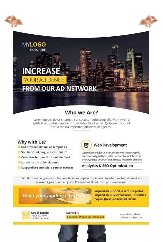 Corporate Download Free Photoshop Flyer Template Free Psd Flyers