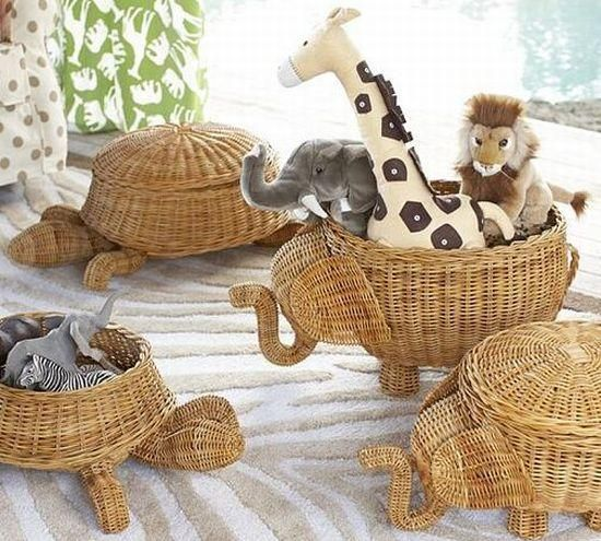 Wow I Really Wish I Could Do This Animal Shaped Baskets