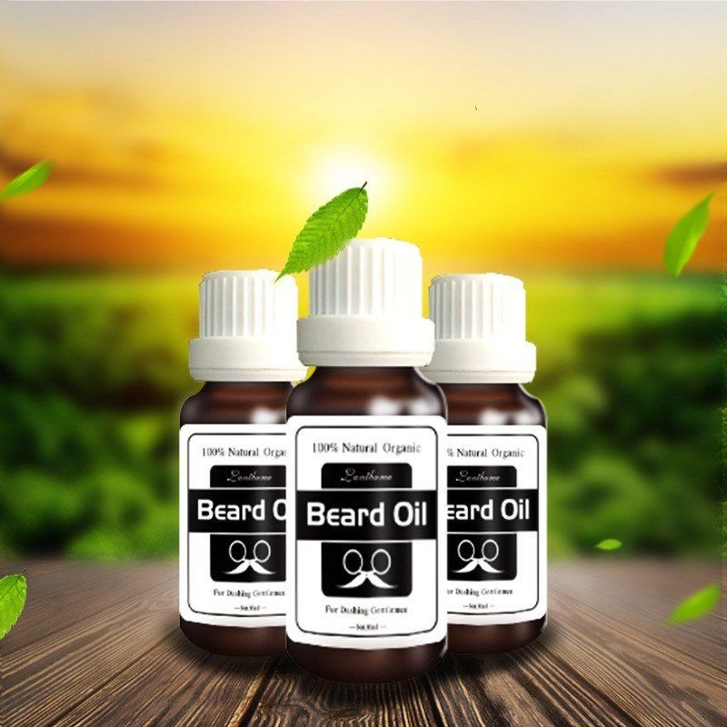 fc4c5228417 2bottles New Original Men Beard growth oil mustache grow serum stimulator  100% natural acceler eyebrow essence Hair Loss Product