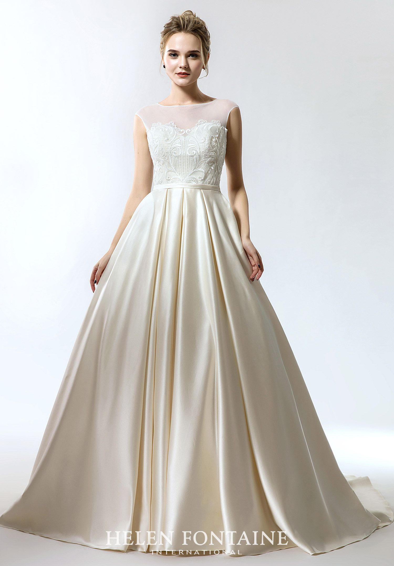 Helen Fontaine Style 4121 Dessy bridesmaid dresses